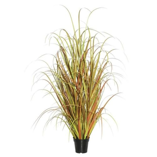 36 in. Mixed Grass in Pot - Brown