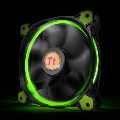 Thermaltake CL-F039 Riing 14 High Static Pressure Fan -Green