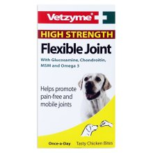 (90 Tablets) Vetzyme High Strength Flexible Joint Dog Tablets