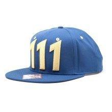 Fallout 4 Unisex Vault 111 Snapback Baseball Cap One Size - Blue