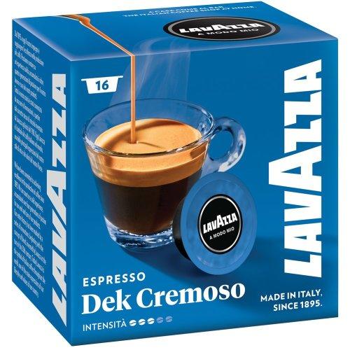 Lavazza a Modo Mio Dek Cremoso Decaf Espresso 16 Capsules
