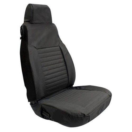 Rampage 5087635 Fit Seat Cover - Front, Black Diamond
