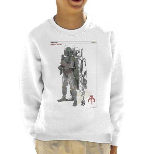 Star Wars Boba Fett Bounty Hunter Slave I Kid's Sweatshirt