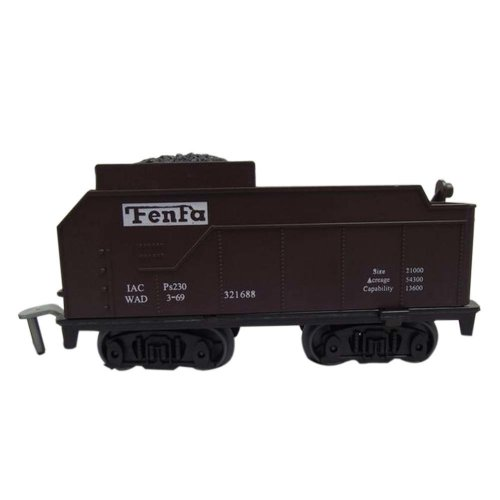 2 Pieces Simulation Railway Carriages Toy/Train Car Toy, I(12*4.5*6CM)