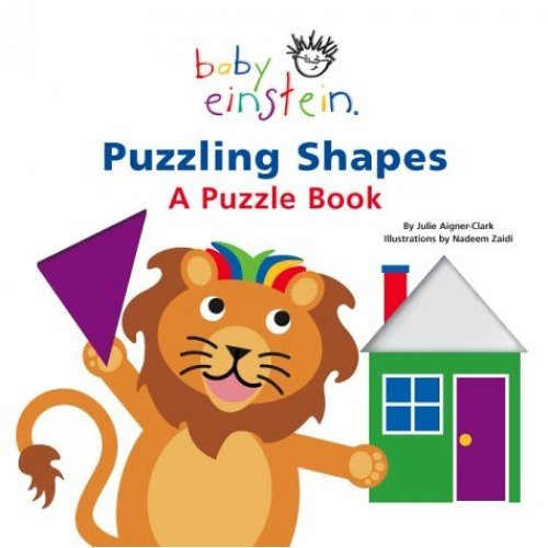 Puzzling Shapes - A Puzzle Book (Baby Einstein)