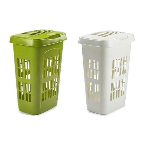 Plastic Laundry Baskets With Lids Storage Hampers