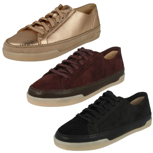 Ladies Clarks Casual Flats Hidi Holly - D Fit