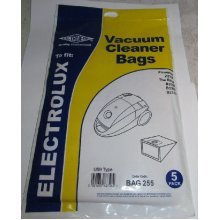 Electruepart BAG 255 5 pack Bags to fit Powerlite Vacuum Cleaners