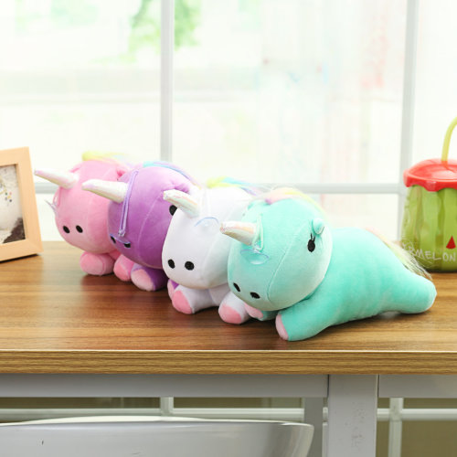 Cute Unicorn Animal Cushion Pillow Toy Plush