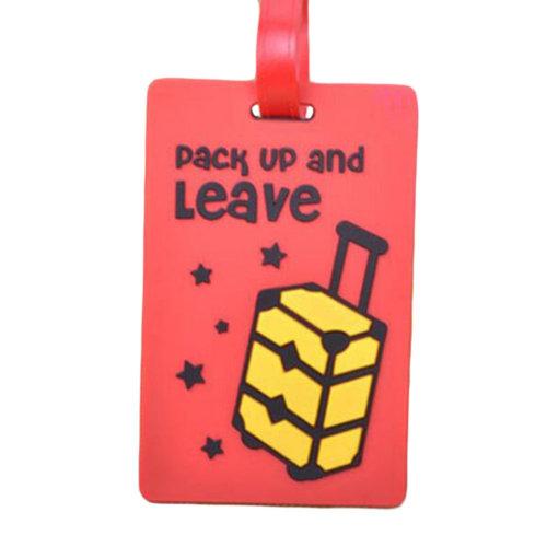 Creative Cartoon Luggage Tag Name Tag/ID Holder Travel Accessories-A7