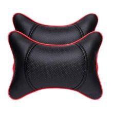 Fashion Decent Head Pillow Soft Neck Protection Auto Pillow-Black