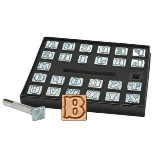 Alphabet Leathercraft Set -  alphabet stamp setstandard 1