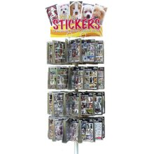 Sticker Display Stand With Sticker Starter Pack