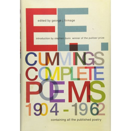 E E Cummings Complete Poems 1904 1962