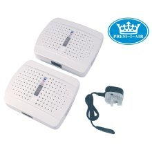 Prem-I-Air Rechargeable Moisture Removal Dehumidifier - Twin Pack