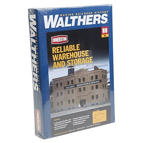 Walthers Cornerstone Reliable Warehouse & Storage Toy