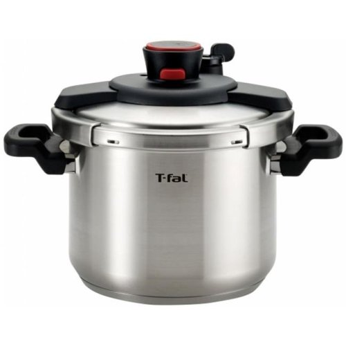 T-FAL P4500734 Clipso 6.3 qt. Stainless Steel Pressure Cooker