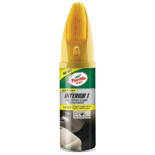 Turtle Wax Interior 1 Multi Purpose Car Cleaning, Stain & Odor Removal Spray 500ml