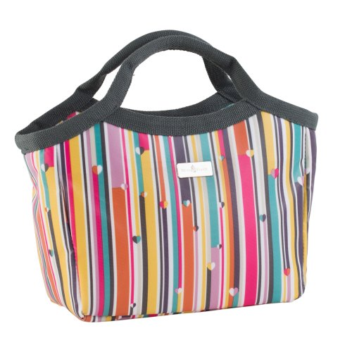 Beau & Elliot Linear Stripe Insulated Lunch Handbag