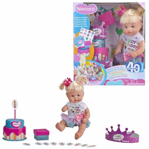 Nenuco Happy Birthday Doll Pink 700013390