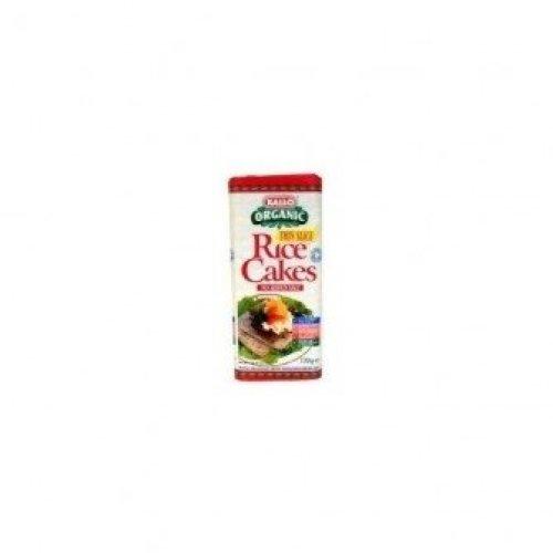KALLO FOODS - Organic Thin Slice Square Brown Rice Cakes NA Salt