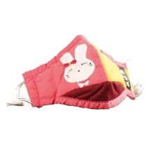 PM2.5 Children's Mask For Anti-smog Of N95 Activated Carbon (Pink Rabbit)