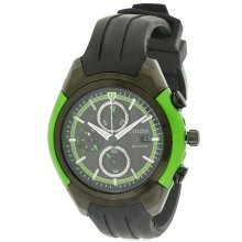 Citizen Eco-Drive Chronograph Rubber Mens Watch CA0289-00E