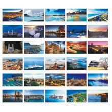 Beautiful Travel Scenery 30 PCS Artistic Retro Postcards-World A3