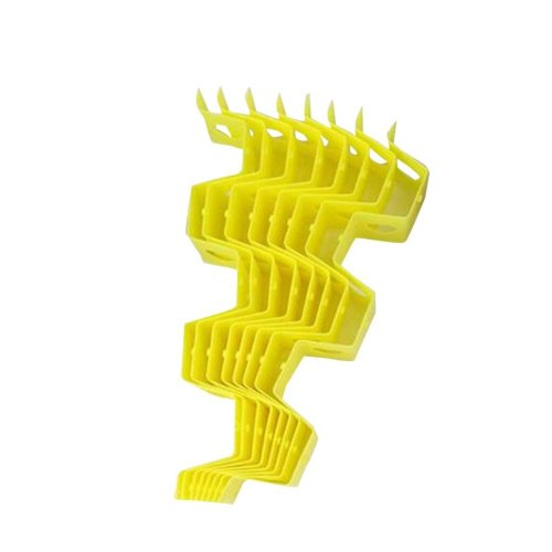 Lemon Yellow 8 Pieces Drawer Divider Accessories Storage Honeycomb
