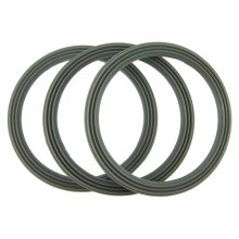 Kenwood FP586 and FP591 Liquidiser Sealing Base Ring - Ridged (Pack Of 3)