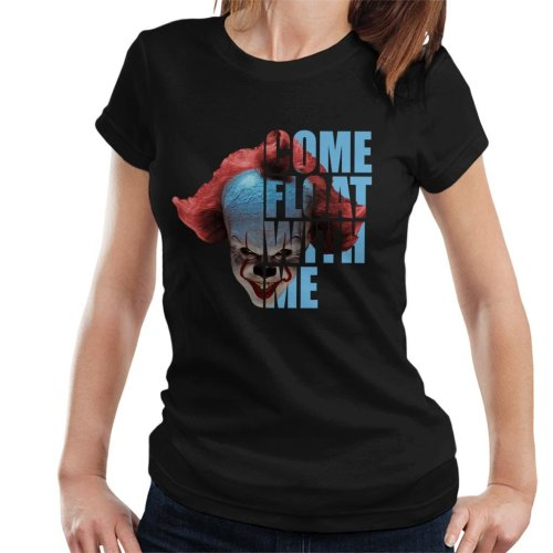 It Pennywise Half Head Text Women's T-Shirt