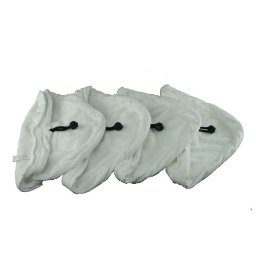 4 X Steam Mop Microfibre Cleaning Cloth Cover Pads Kit Fits Montiss