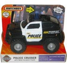 Matchbox Police Cruiser with Mega-Pullback Power