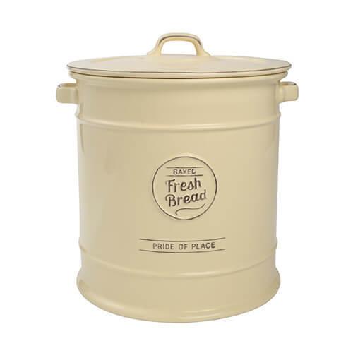 TG Pride of Place Bread Crock Bin Ceramic Cream 18036