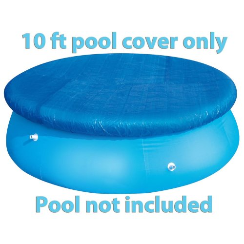 10ft Fast Set Swimming Pool Covers Debris Protection Covering Fast Set NEW