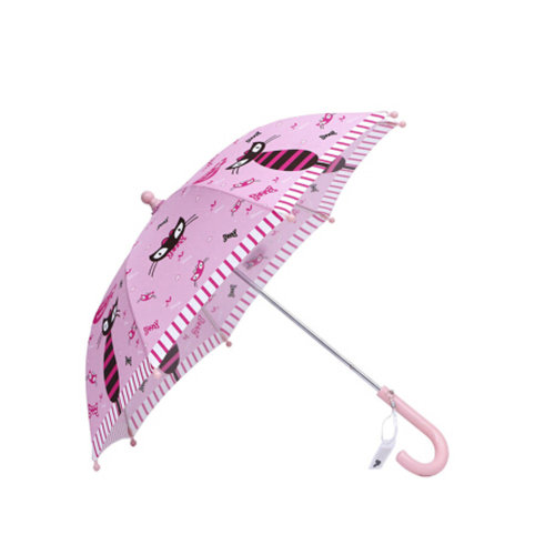 Rainy  Sunny Day Umbrella Childrens /Bright colors Kids Umbrella,?0-5years)?Cat
