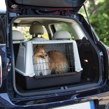 Mini Car Dog Crate Ideal for Small Dogs and Cats
