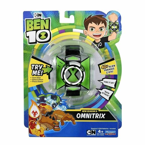 Ben10 Electronic Omnitrix Wrist Omnitrix Role Play Watch New Season 3