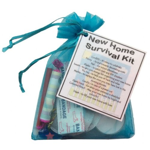 New Home Survival Kit | Funny Housewarming Gift