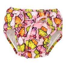 Baby Swim Trunks 0-3 Infants Cute Swimsuit Leakproof Swim Shorts, Green Desserts