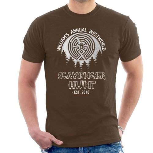 Williams Annual Scavenger Hunt Westworld Men's T-Shirt