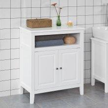 SoBuy® FRG204-W, Bathroom Storage Cabinet Storage Cupboard