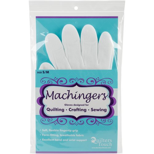 Quilter's Touch Machingers Gloves 1 Pair-Small/Medium