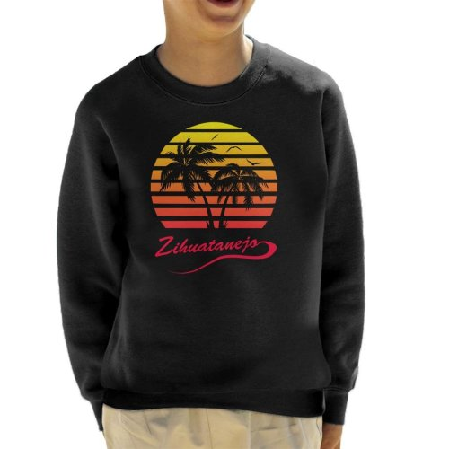 Shawshank Redemption Zihuatanejo 80s Sunset Kid's Sweatshirt