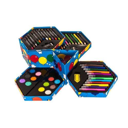 Hexagon Art Set (52 Piece)