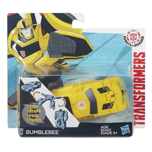 Transformers One Step Patrol Mode Bumblebee Action Figure New Sealed