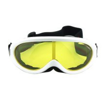 Snow Goggles Windproof Eyewear Ski Sports Goggle Protective Glasses White/Yellow