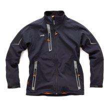 Scruffs Pro Softshell Black Waterproof Jacket