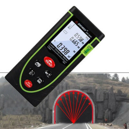 Handheld Digital Laser Distance Meter 40m Measure Range Finder Diastimeter NEW U