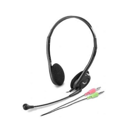 Genius HS-200C Binaural Head-band Black headset